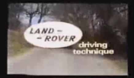 McDonald 4x4 Land Rover Video