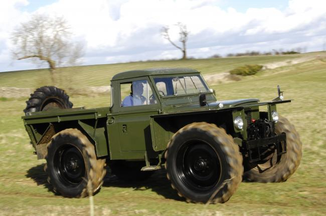 McDonald 4x4 Dunsfold Collection Forrest Rover
