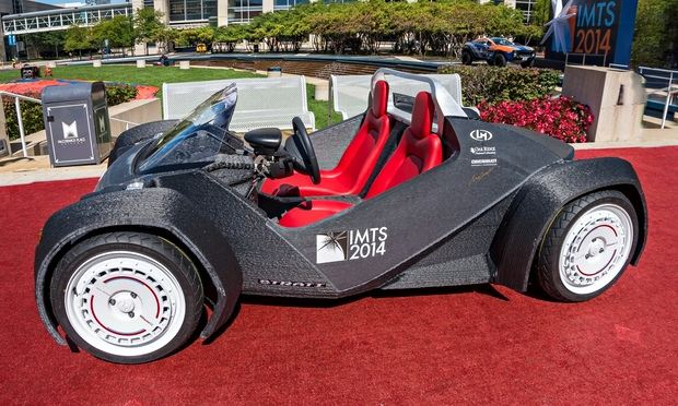 McDonald 4X4 3D Printed Car