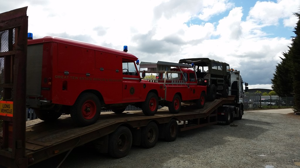McDonald Automotive Land Rover Fire Engines