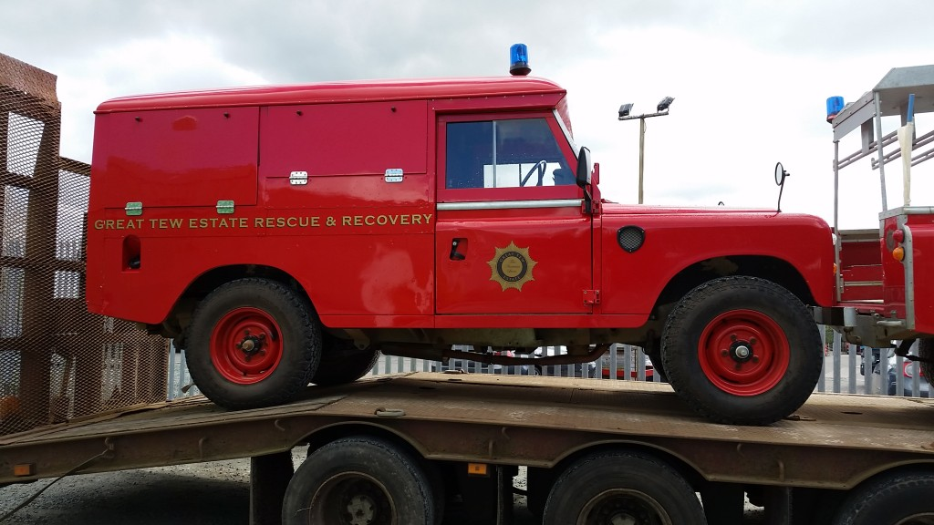 McDonald Automotive 109 Fire Tender