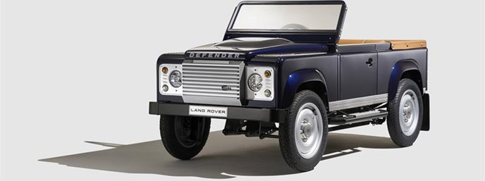Bespoke Defender Pedal Car