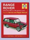 Haynes Repair Manual Range Rover Classic Petrol To 1992