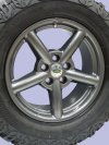 Zu Alloy Wheel In Anthracite Discovery2 Range Rover P38 18X8