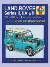 Haynes Manual Land Rover Series 2 3 Petrol