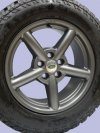 Zu Alloy Wheel In Anthracite Matt Discovery 2 Range Rover P3