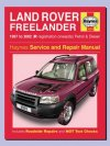 Haynes Manual Freelander 1